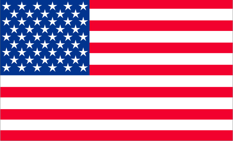 US flag-almighty power